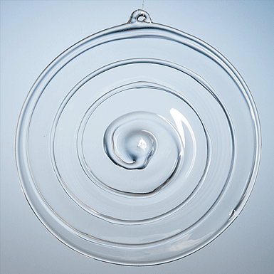 Spiral window hanger