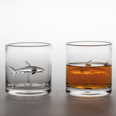Haifisch Whiskyglas