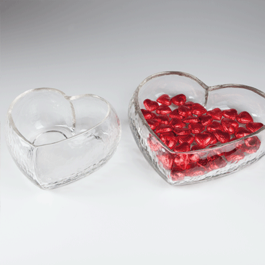 Heart-shaped bowl Romantica