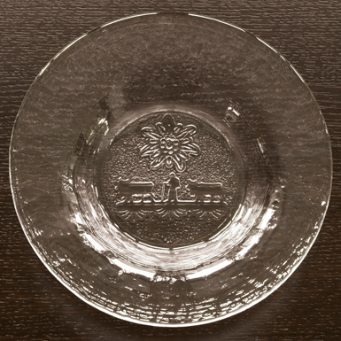 "Glasi-Bowl with motif ""Alpaufzug"""